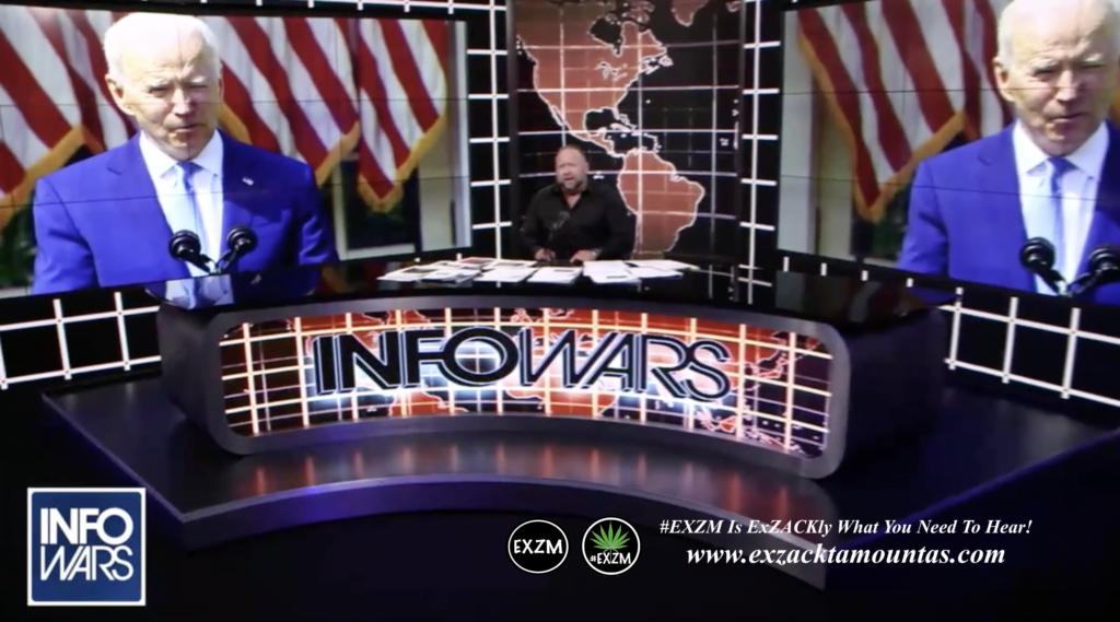 Alex Jones President Slow Joe Biden Live Infowars Studio EXZM Zack Mount April 8th 2021 copy