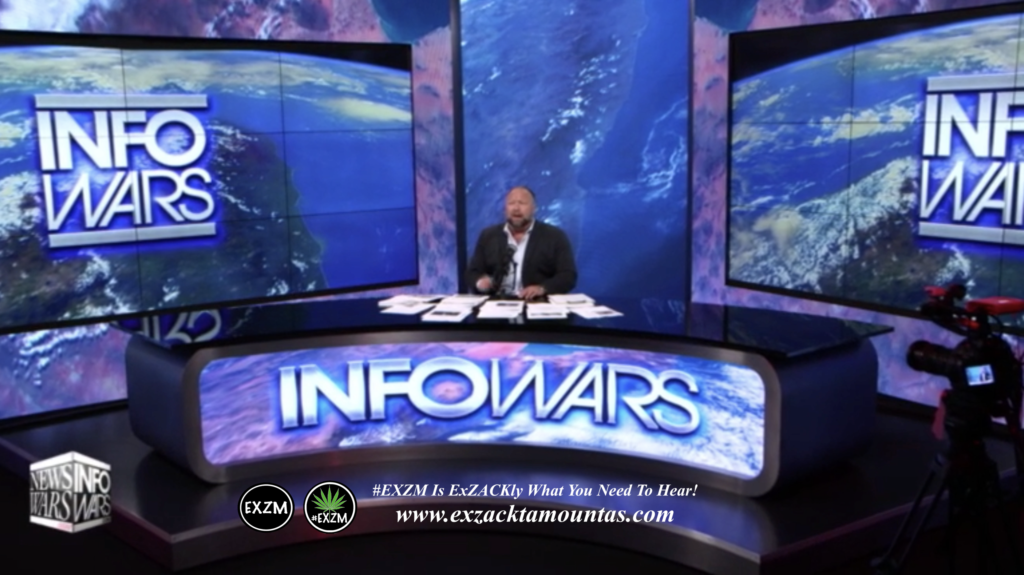 Alex Jones Live In Infowars Studio EXZM Zack Mount May 30th 2021 copy