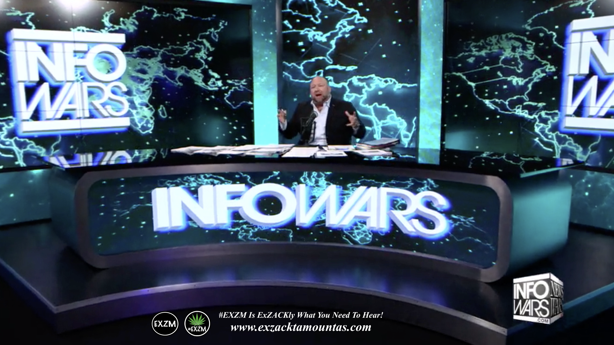 Alex Jones Live Infowars Studio EXZM Zack Mount May 11th 2021 copy