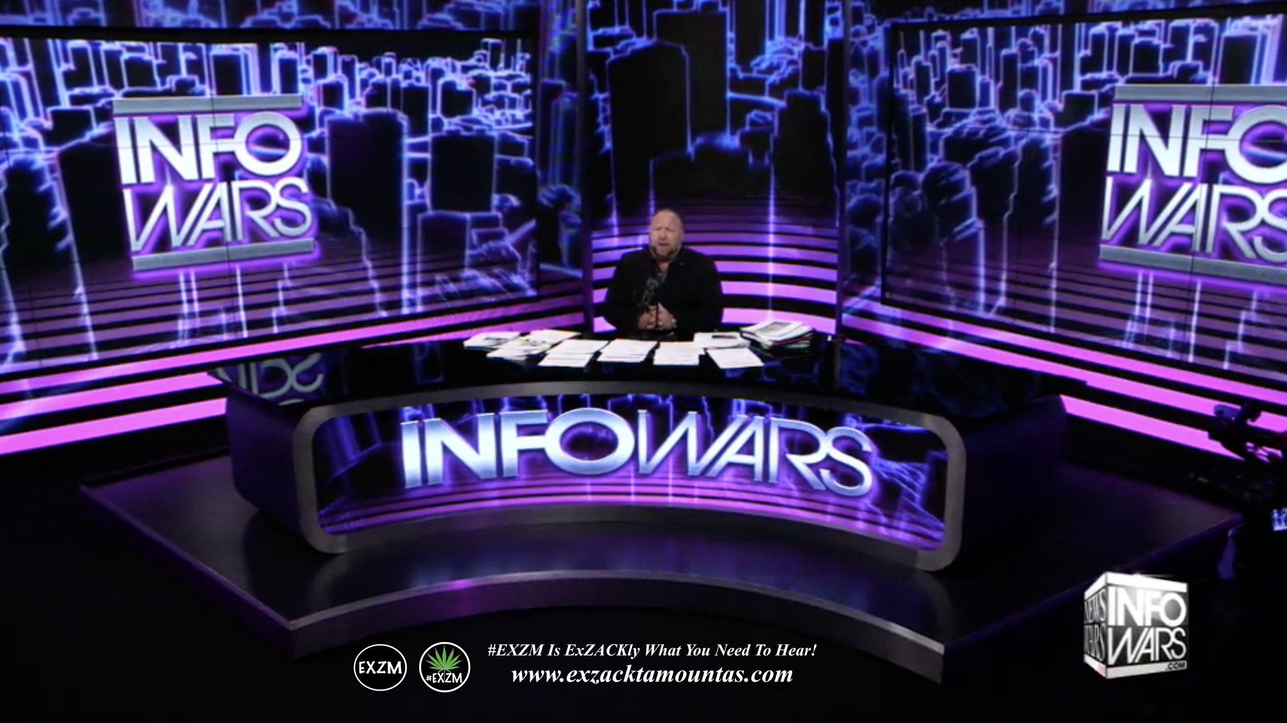 Alex Jones Live Infowars Studio EXZM Zack Mount May 12th 2021 copy