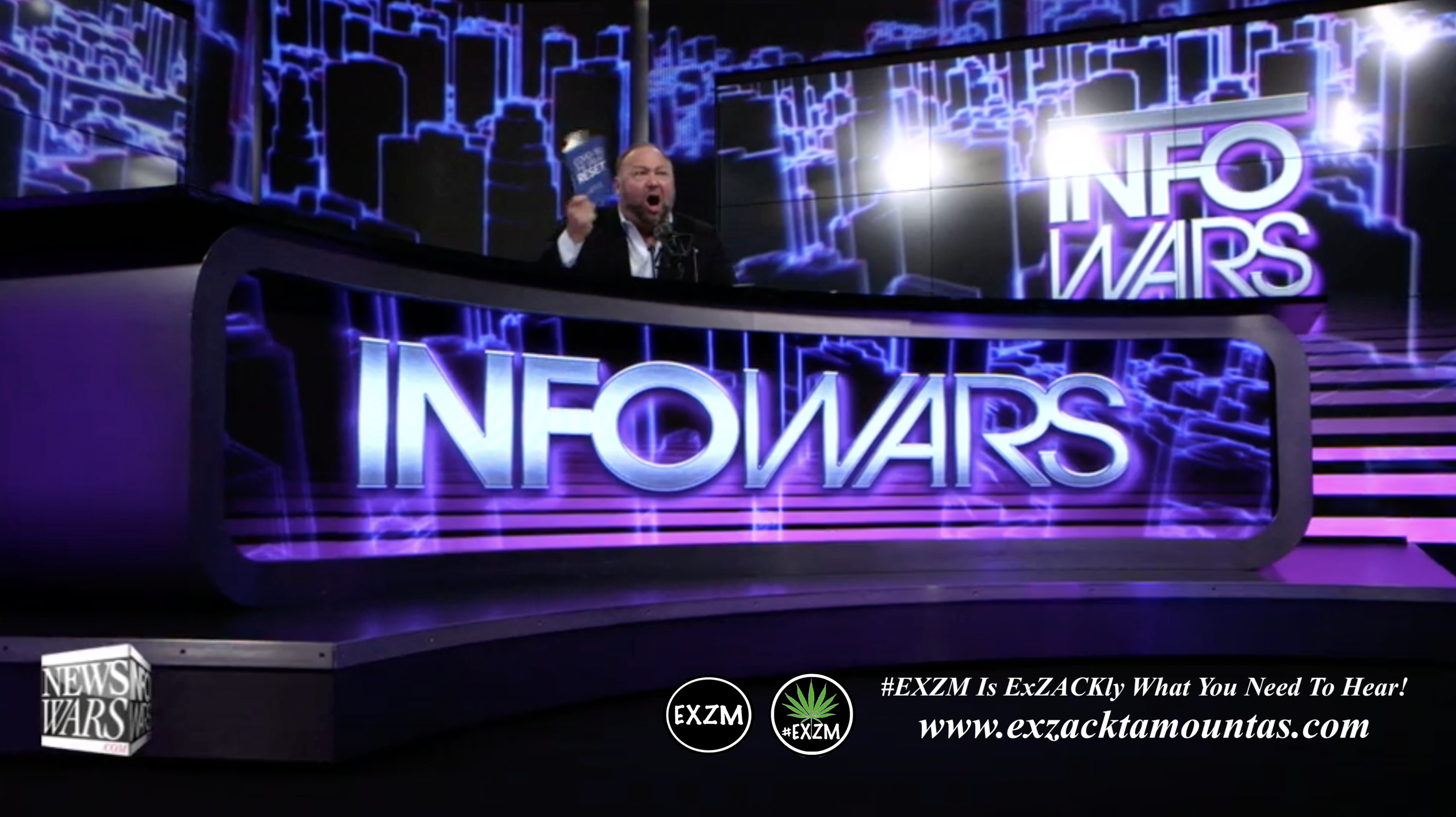 Alex Jones Live Infowars Studio EXZM Zack Mount May 14th 2021 copy