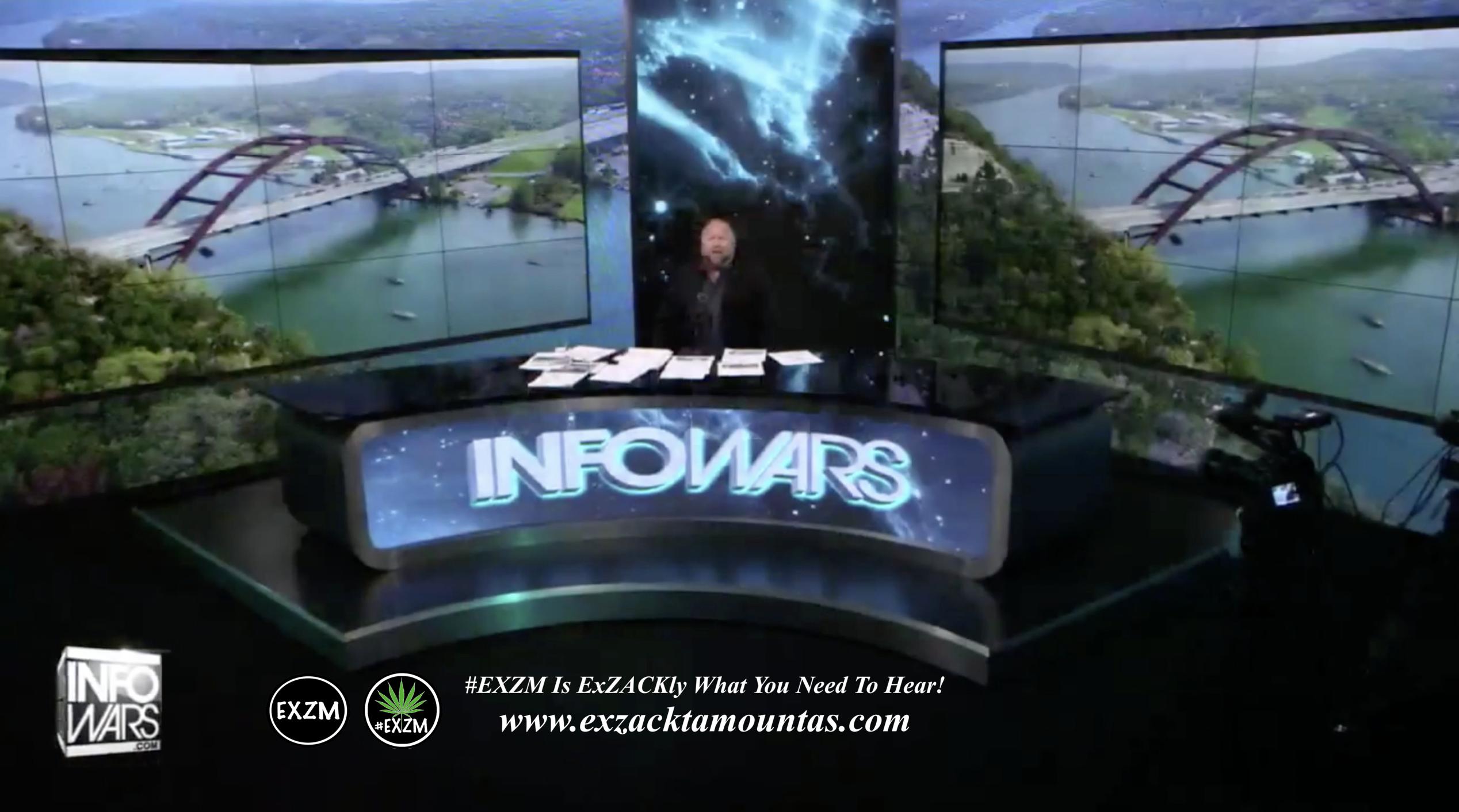 Alex Jones Live Infowars Studio EXZM Zack Mount May 9th 2021 copy