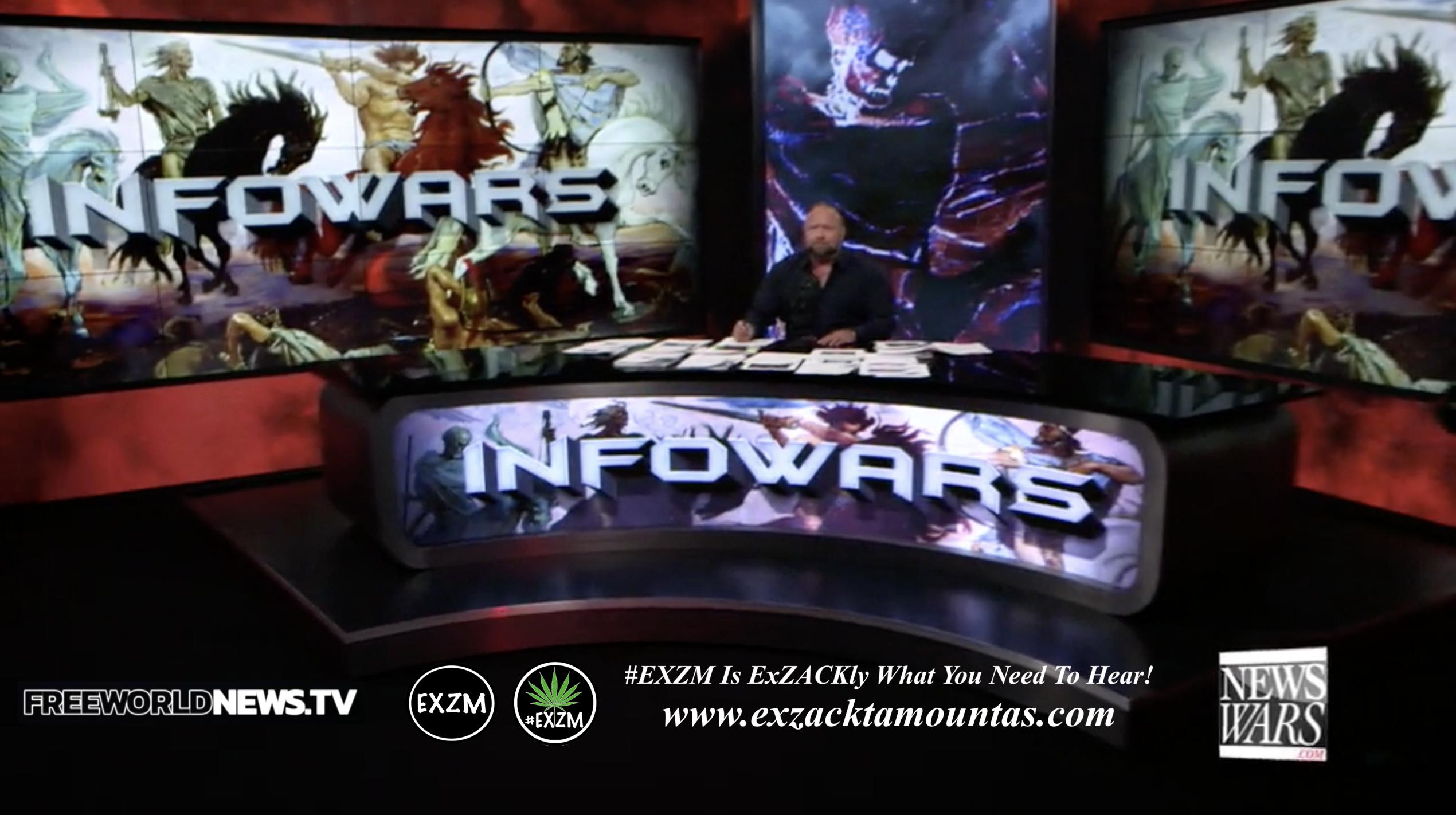 Alex Jones Live In Infowars Studio EXZM Zack Mount June 14th 2021 copy
