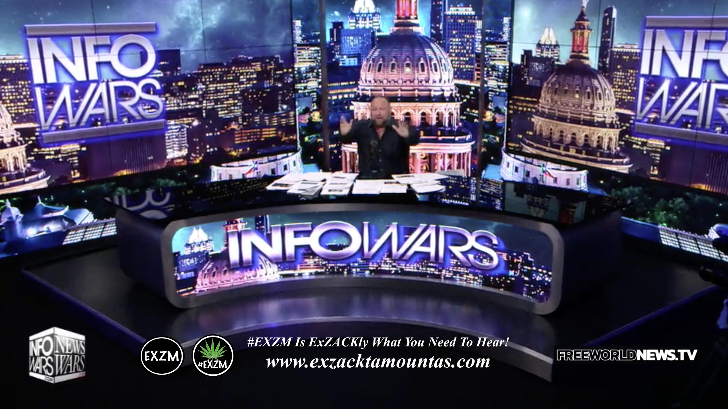Alex Jones Live In Infowars Studio EXZM Zack Mount June 16th 2021 copy