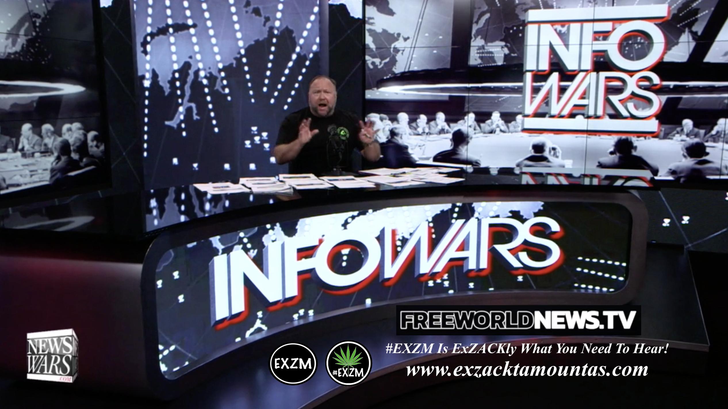 Alex Jones Live In Infowars Studio EXZM Zack Mount June 17th 2021 copy