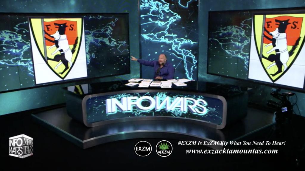 Alex Jones Live In Infowars Studio EXZM Zack Mount June 1st 2021 copy