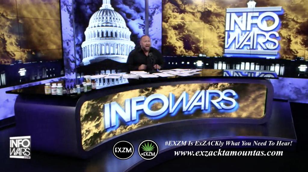 Alex Jones Live In Infowars Studio EXZM Zack Mount June 7th 2021 copy