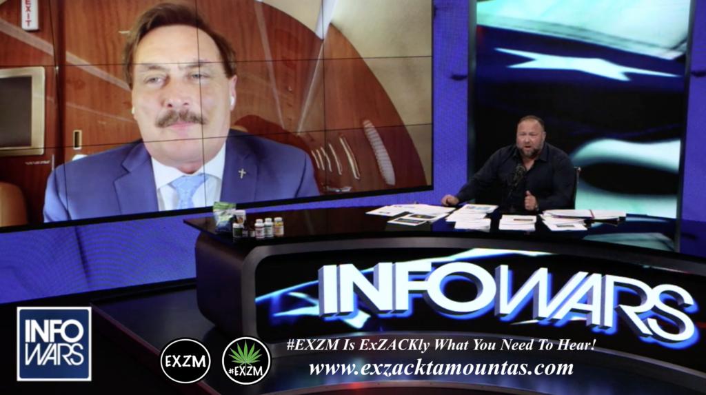 Alex Jones Live In Infowars Studio Mike Lindell EXZM Zack Mount June 10th 2021 copy