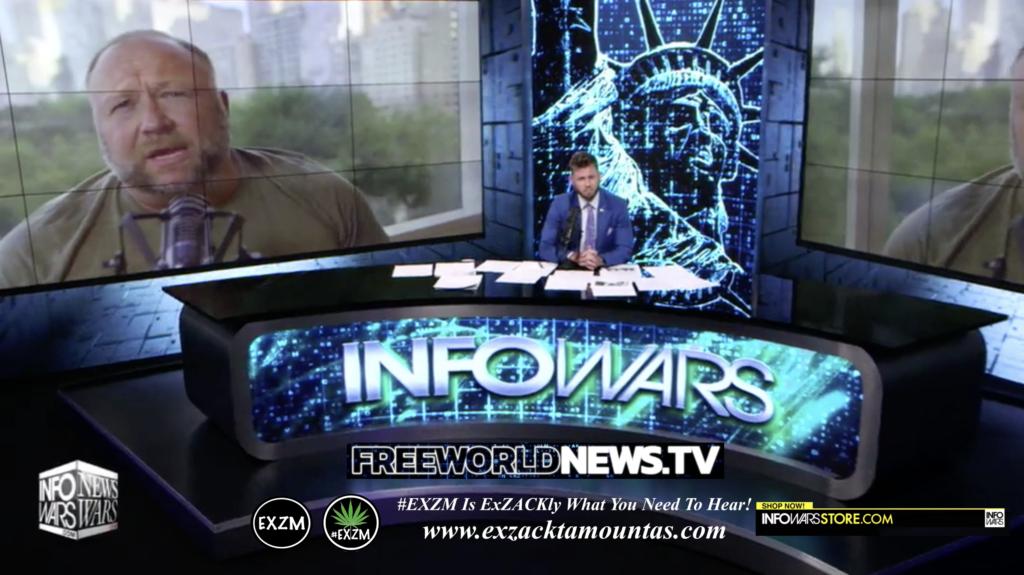 Alex Jones Owen Shroyer Live In Infowars Studio Free World News TV EXZM Zack Mount June 20th 2021 copy
