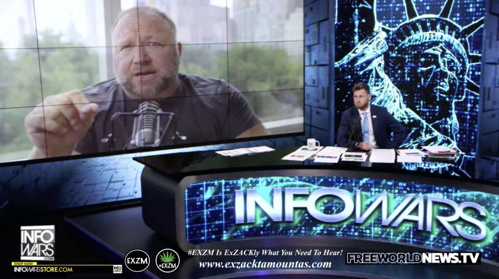 Alex Jones Owen Shroyer Live In Infowars Studio Free World News TV EXZM Zack Mount June 21st 2021 copy