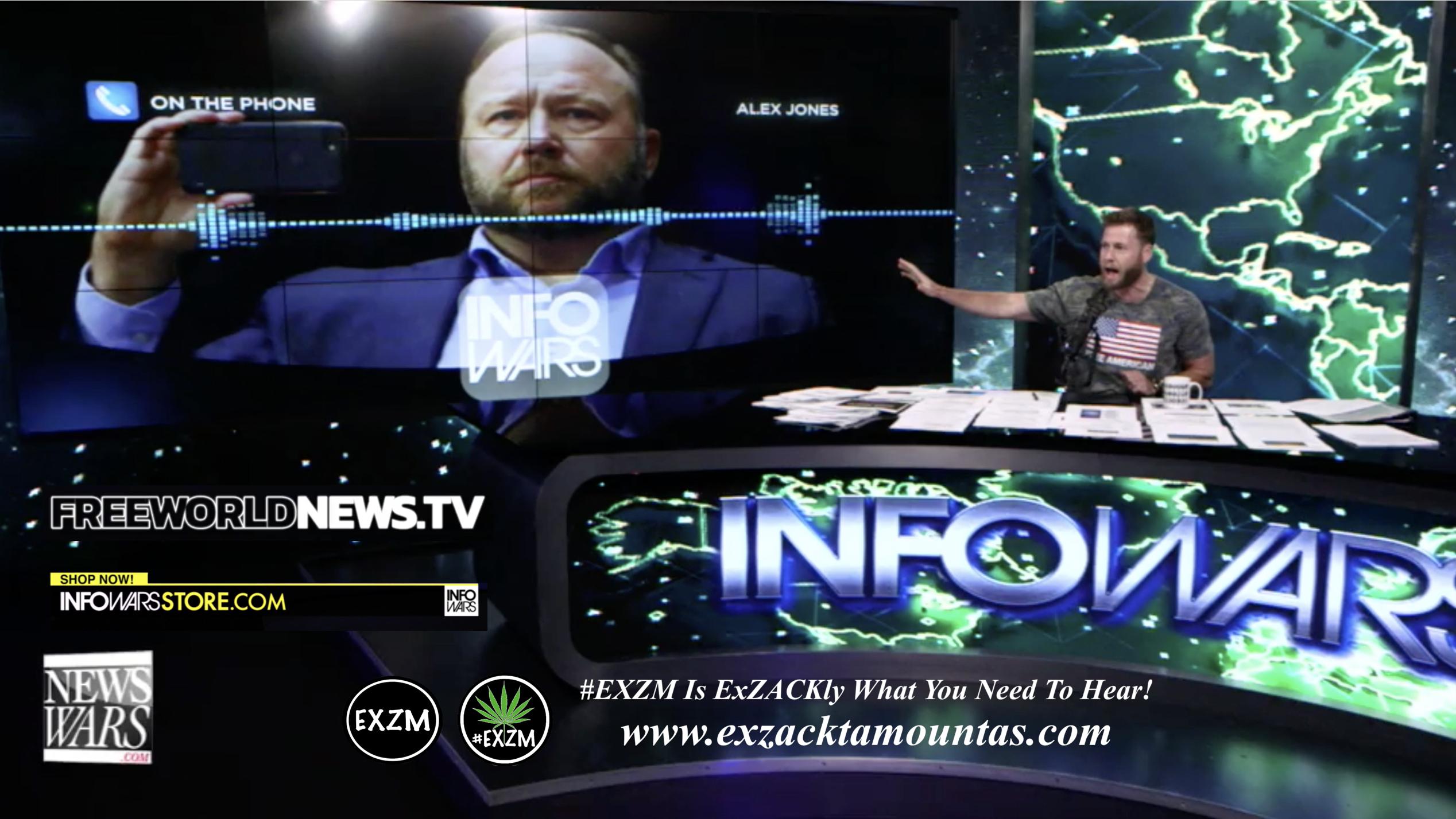 Alex Jones Owen Shroyer Live In Infowars Studio Free World News TV EXZM Zack Mount June 30th 2021 copy