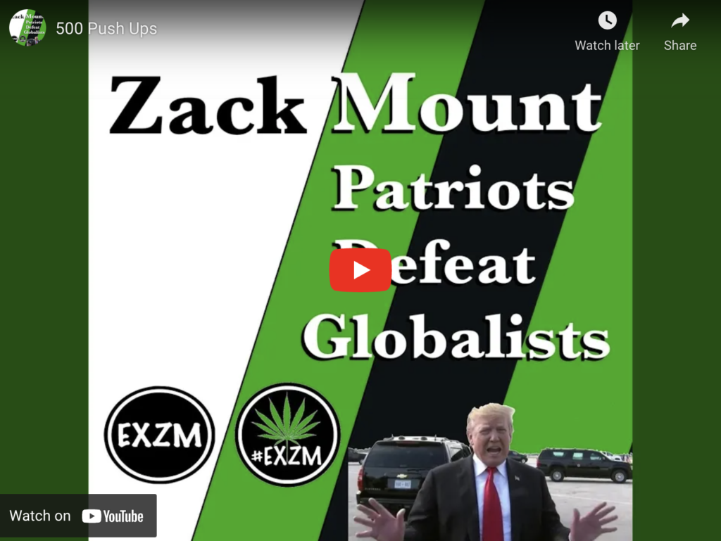 500 Push Ups By Zack Mount EXZM Zack Mount March 29th 2019