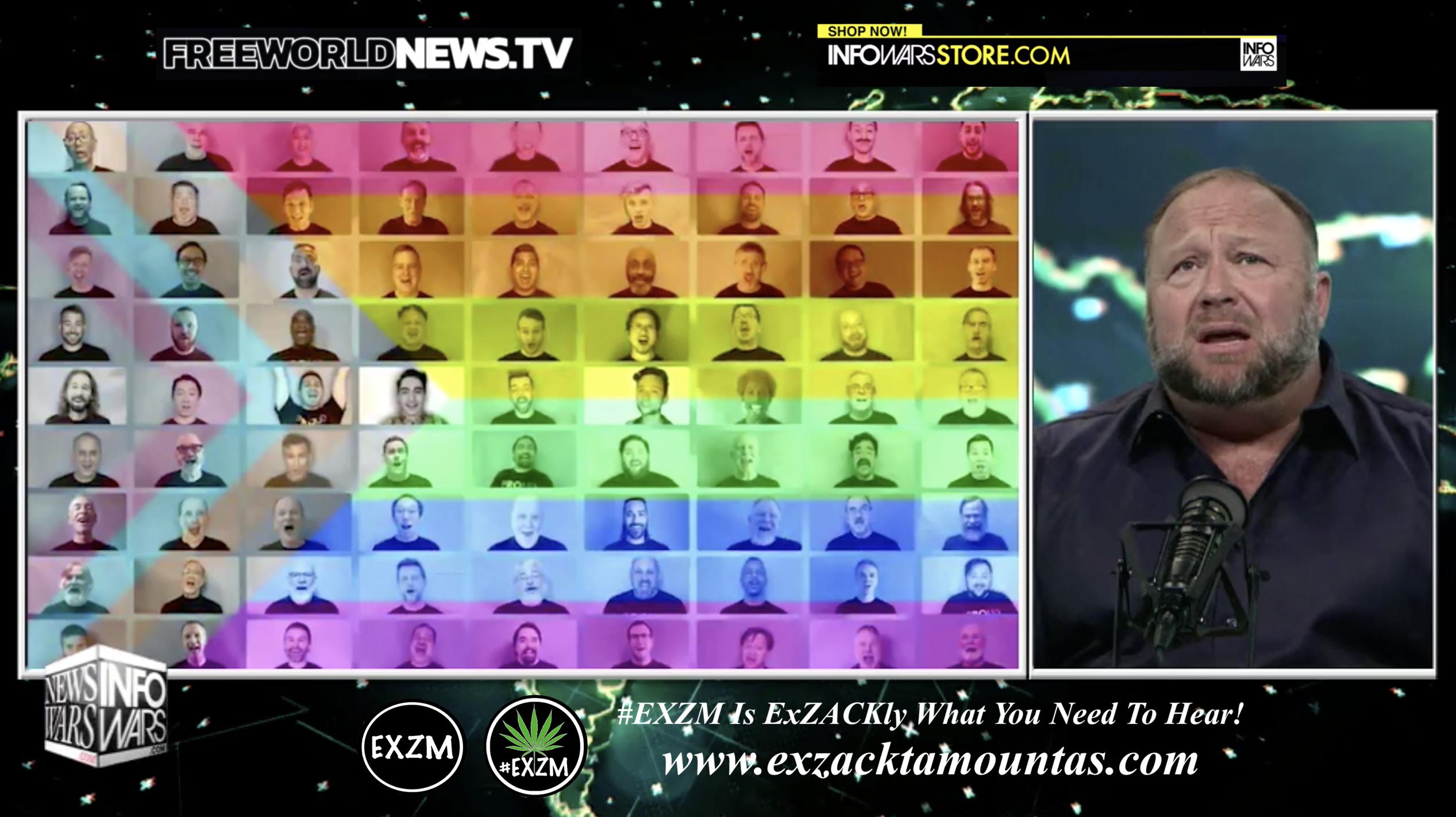 Alex Jones Live In Infowars Studio Free World News TV EXZM Zack Mount July 8th 2021