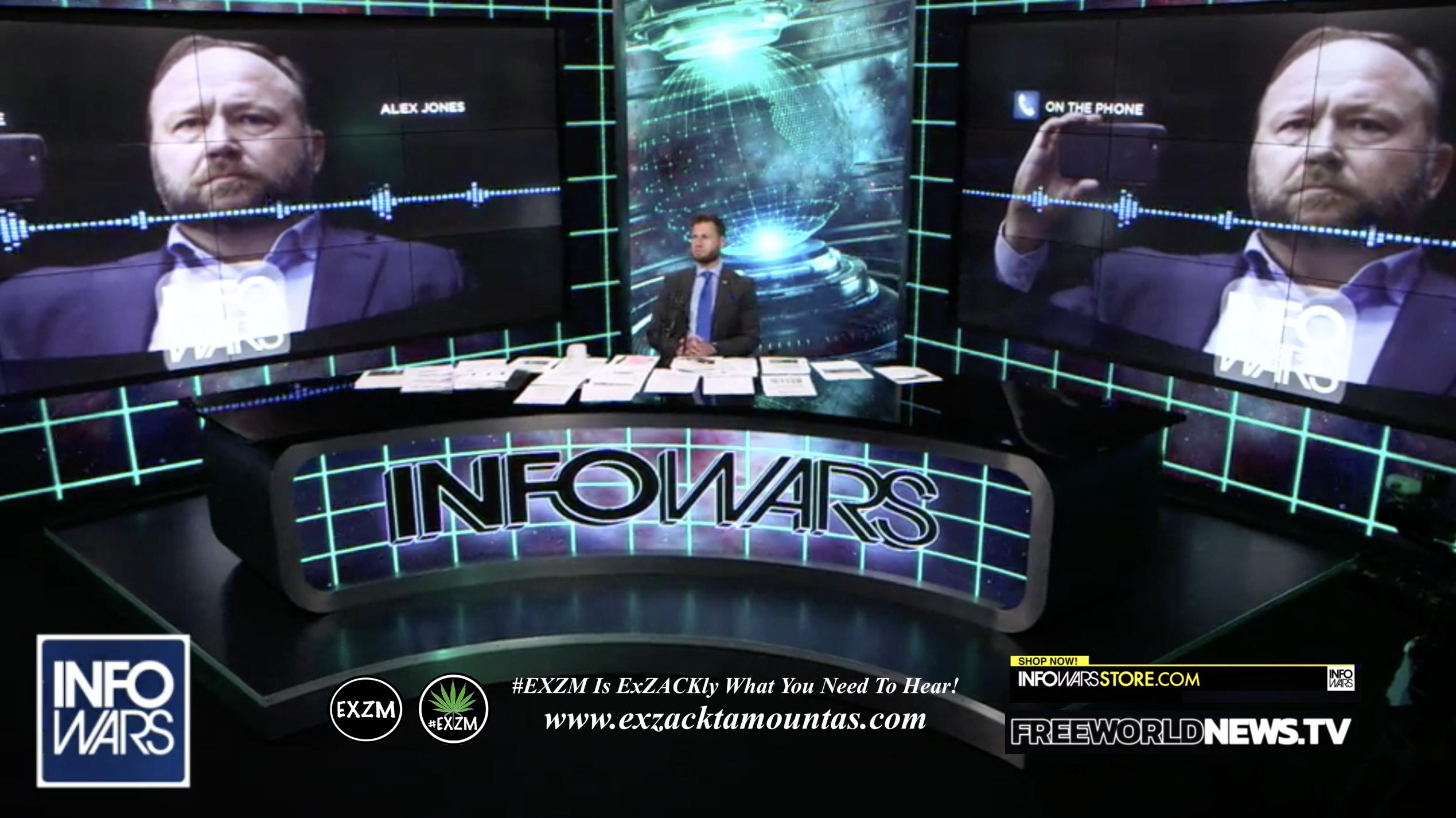 Alex Jones Owen Shroyer Live In Infowars Studio Free World News TV EXZM Zack Mount July 28th 2021 copy