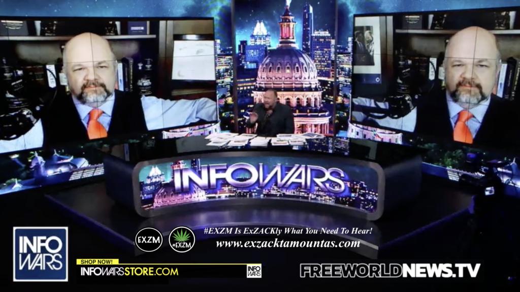 Alex Jones Robert Barnes Live In Infowars Studio Free World News TV EXZM Zack Mount July 5th 2021 copy