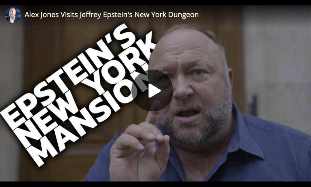 Alex Jones Visits Jeffrey Epsteins New York Dungeon EXZM Zack Mount June 20th 2021