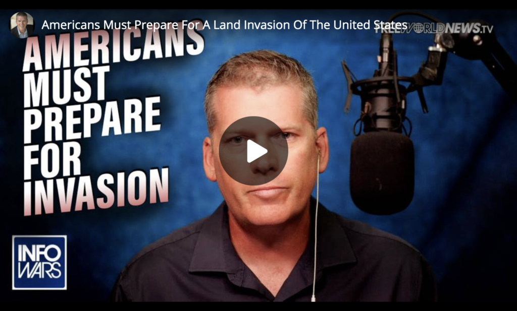Americans Must Prepare For A Land Invasion Of The United States EXZM Zack Mount June 24th 2021