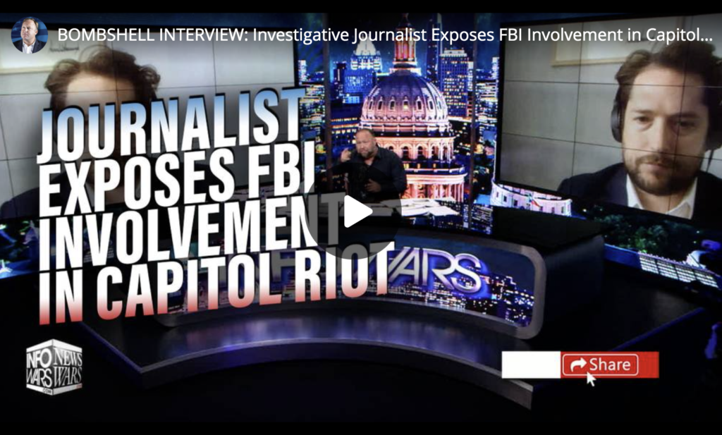 BOMBSHELL INTERVIEW Investigative Journalist Exposes FBI Involvement in Capitol Riot EXZM Zack Mount June 16th 2021