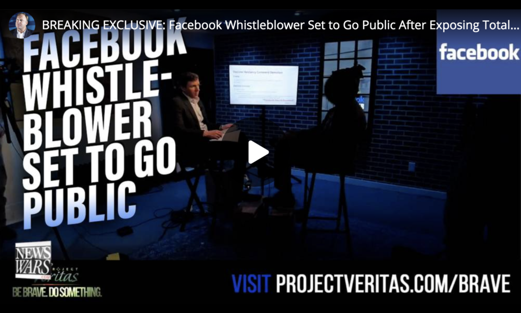 BREAKING EXCLUSIVE Facebook Whistleblower Set to Go Public After Exposing Total Tyranny EXZM Zack Mount May 27th 2021