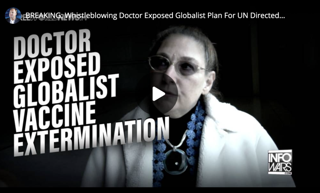 BREAKING Whistleblowing Doctor Exposed Globalist Plan For UN Directed Depopulation Great Reset Using Vaccines For Extermination EXZM Zack Mount May 21st 2021