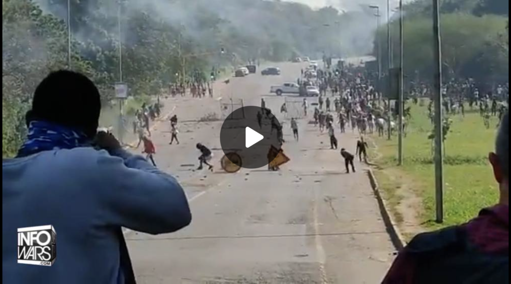 Collapse Of South Africa Resembles Zombie Apocalypse EXZM Zack Mount July 12th 2021