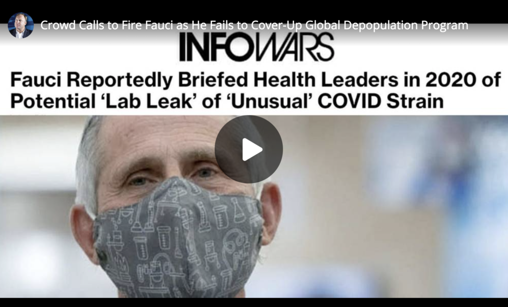 Crowd Calls to Fire Fauci as He Fails to CoverUp Global Depopulation Program EXZM Zack Mount June 7th 2021