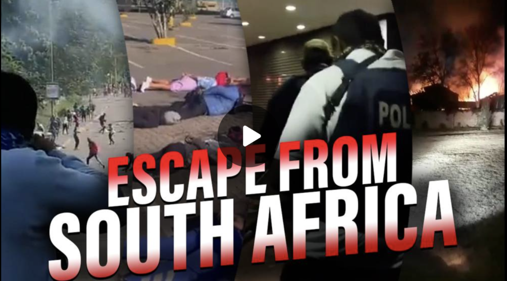 Dan Lyman Escape From South Africa And The Collapse Of Western Civilization EXZM Zack Mount July 15th 2021