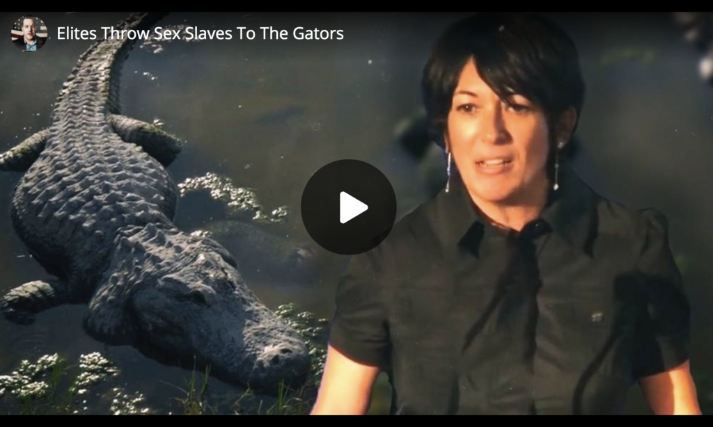 Elites Throw Sex Slaves To The Gators EXZM Zack Mount April 2nd 2021