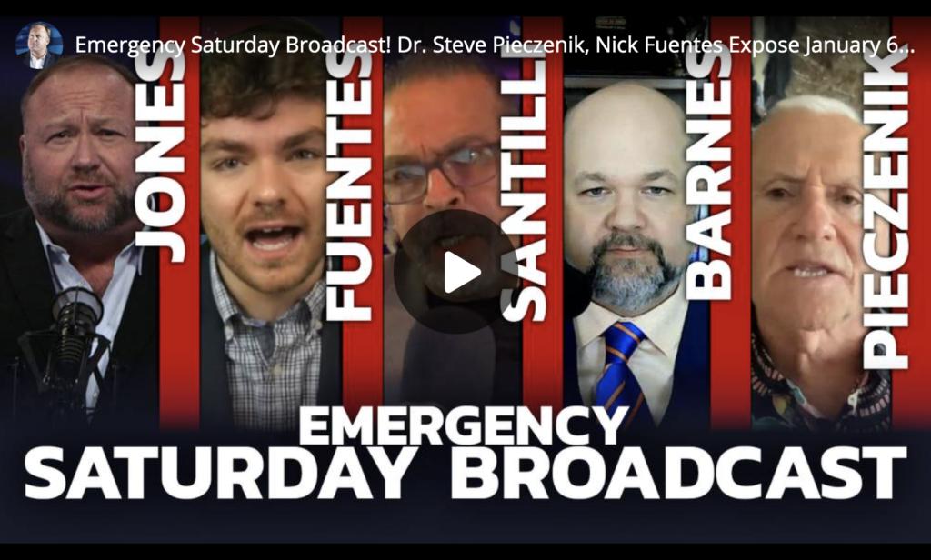 Emergency Saturday Broadcast Dr Steve Pieczenik Nick Fuentes Expose January 6 False Flag EXZM Zack Mount June 19th 2021