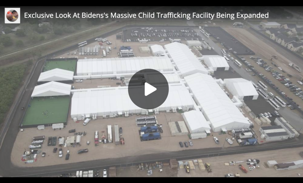 Exclusive Look At Bidens Massive Child Trafficking Facility Being Expanded EXZM Zack Mount March 30th 2021