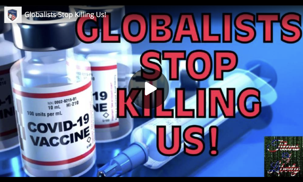 Globalists Stop Killing Us EXZM Zack Mount May 28th 2021