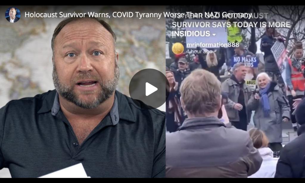 Holocaust Survivor Warns COVID Tyranny Worse Than NAZI Germany EXZM Zack Mount March 29th 2021