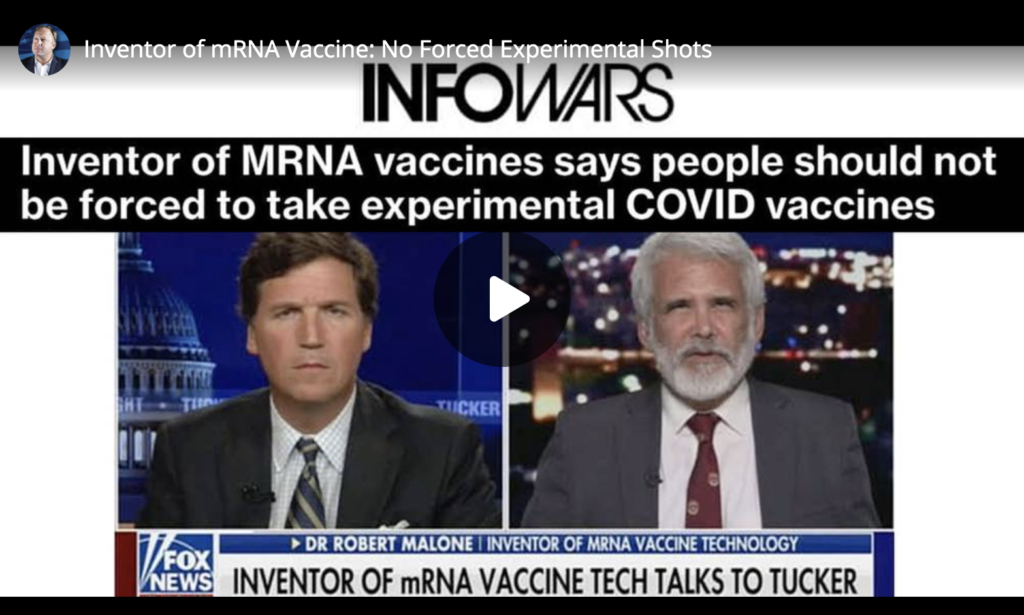 Inventor of mRNA Vaccine No Forced Experimental Shots EXZM Zack Mount June 24th 2021