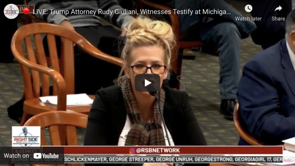 LIVE Trump Attorney Rudy Giuliani Witnesses Testify at Michigan House Oversight Committee EXZM Zack Mount December 2nd 2020