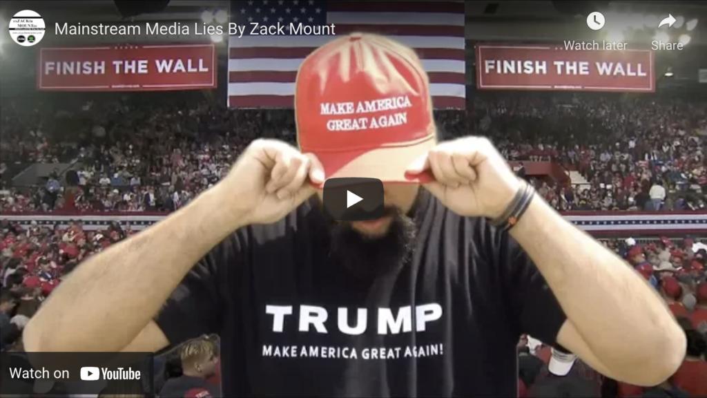 Mainstream Media Lies By Zack Mount EXZM Zack Mount April 17th 2019