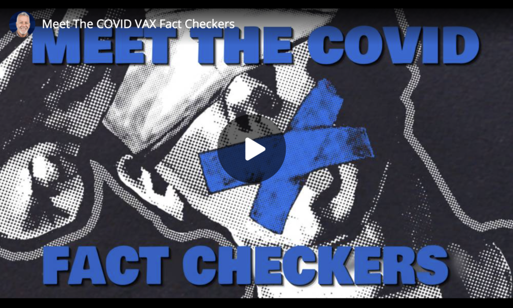 Meet The COVID VAX Fact Checkers EXZM Zack Mount May 6th 2021
