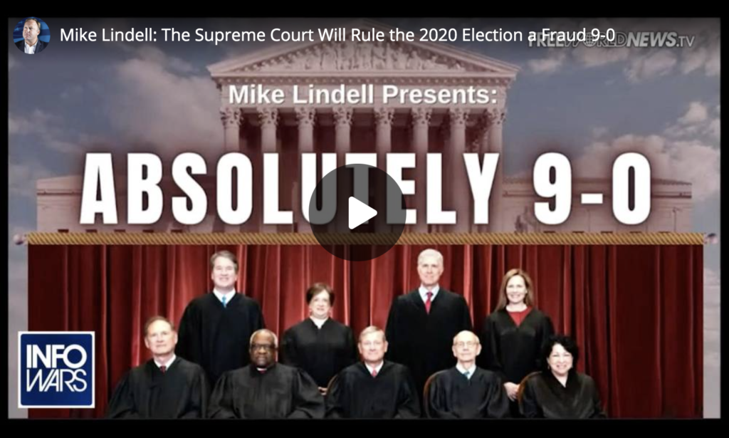 Mike Lindell The Supreme Court Will Rule the 2020 Election a Fraud 9 to 0 EXZM Zack Mount June 10th 2021