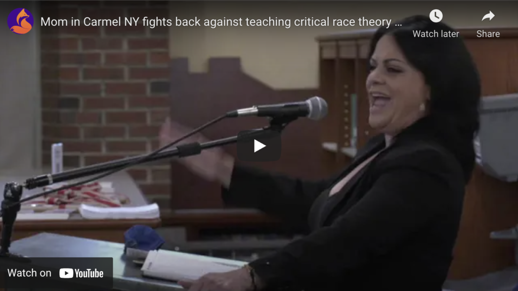 Mom in Carmel NY fights back against teaching critical race theory EXZM Zack Mount July 10th 2021