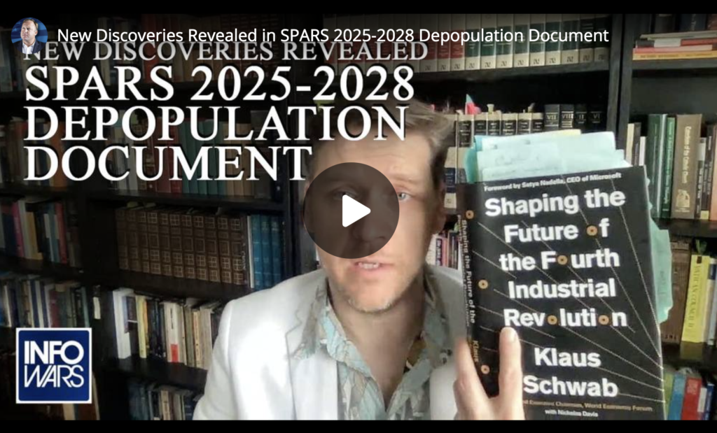 New Discoveries Revealed in SPARS 2025 to 2028 Depopulation Document EXZM Zack Mount April 8th 2021