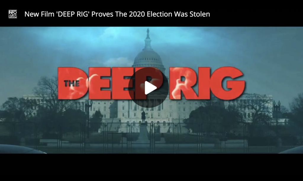 New Film DEEP RIG Proves The 2020 Election Was Stolen EXZM Zack Mount May 29th 2021