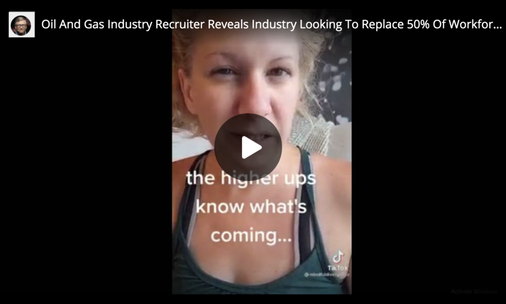Oil And Gas Industry Recruiter Reveals Industry Looking To Replace Workforce Due To Vaccine Injury Death EXZM Zack Mount June 14th 2021