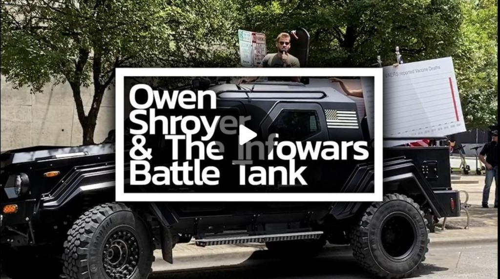 Owen Shroyer Bullhorns ATX On Deadly Covid Vax Triggering Libs Who Got The Experimental Shot EXZM Zack Mount July 17th 2021