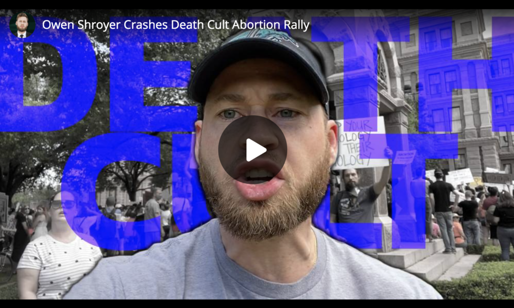 Owen Shroyer Crashes Death Cult Abortion Rally EXZM Zack Mount May 29th 2021