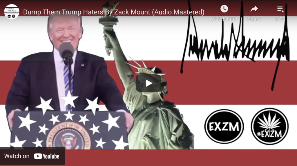 Patriots Defeat Globalists By Zack Mount Full Music Album EXZM Zack Mount January 13th 2021 2