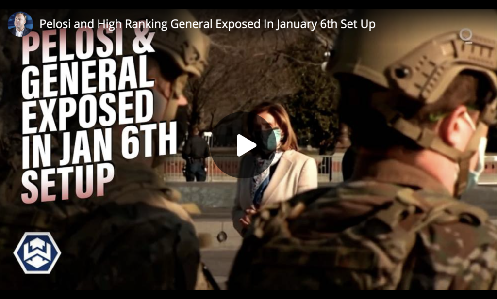 Pelosi and High Ranking General Exposed In January 6th Set Up EXZM Zack Mount June 25th 2021