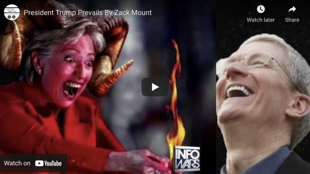 President Trump Prevails By Zack Mount EXZM Zack Mount October 22nd 2018 2