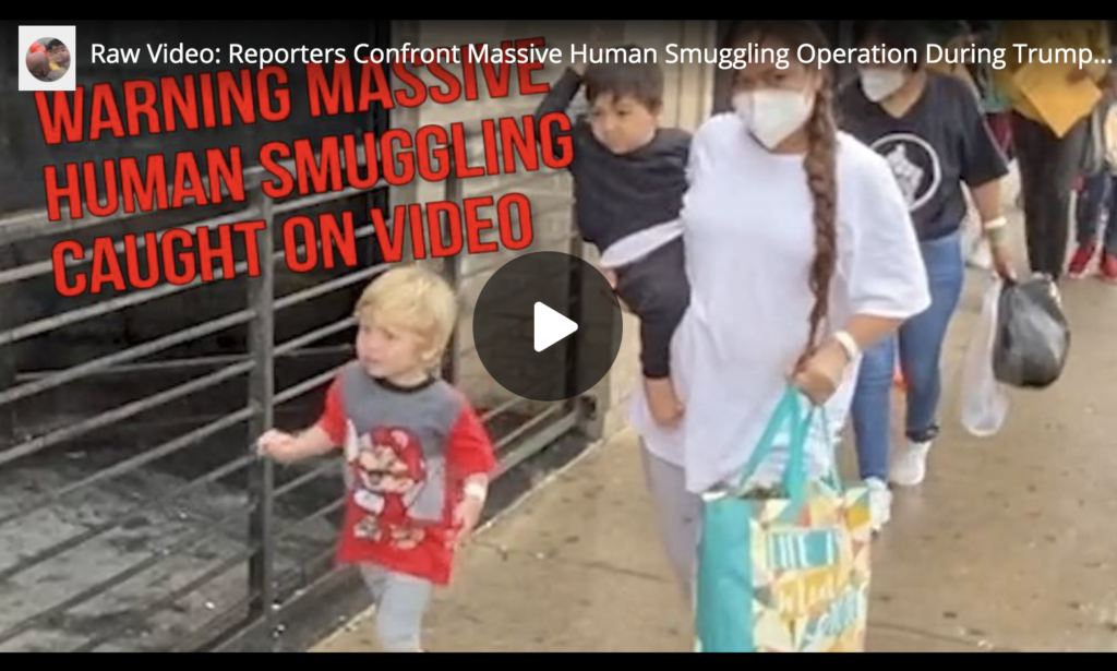 Raw Video Reporters Confront Massive Human Smuggling Operation During Trump Border Visit Part 1 EXZM Zack Mount June 30th 2021