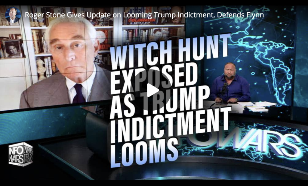Roger Stone Gives Update on Looming Trump Indictment Defends Flynn EXZM Zack Mount June 1st 2021