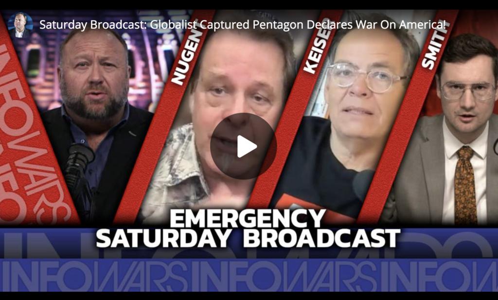 Saturday Broadcast Globalist Captured Pentagon Declares War On America! EXZM Zack Mount June 26th 2021