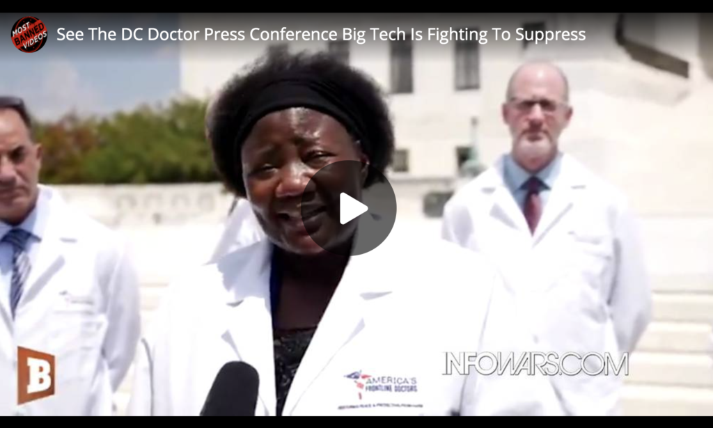 See The DC Doctor Press Conference Big Tech Is Fighting To Suppress EXZM Zack Mount July 28th 2020